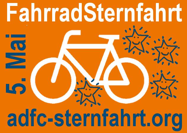 Logo ADFC Fahrradsternfahrt