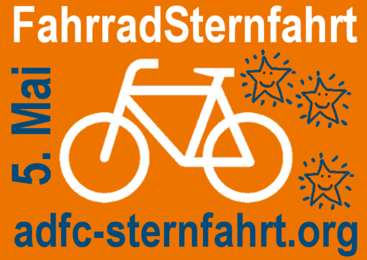 Logo: ADFC FahrradSternfahrt 2013