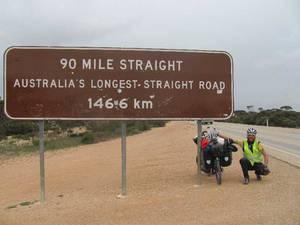 Bild: Straßenschild Australien