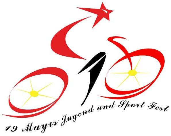Bild: Logo Deutsch-Türkischen Radtour anlässlich des türkischen Jugend- und Sportfestes am Samstag, 19. Mai 2012
