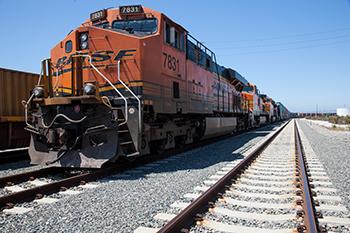 Rail at the Port of Long Beach