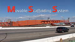 Movable scaffold system video