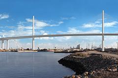 Desmond Bridge replacement rendering