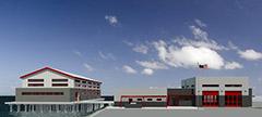 Fireboat Station renderings