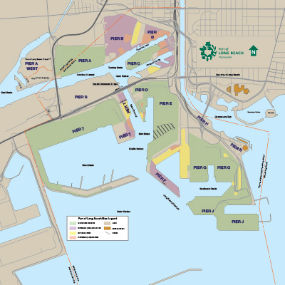 Map of Harbor District