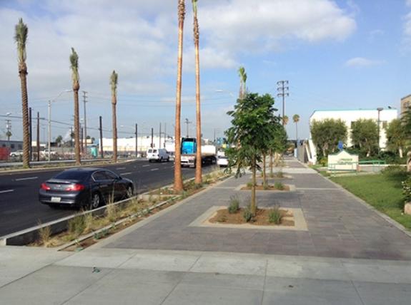 West Anaheim Street project