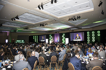 Audience at the 2018 State of the Port