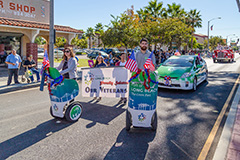 Port staff in Long Beach Veterans Day Parade