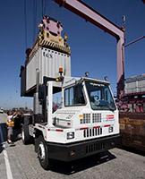 Cargo transport at POLB