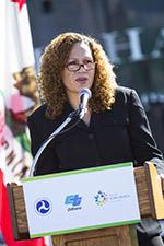Commission President Lori Ann Guzmán