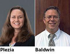 Suzanne Plezia and Tom Baldwin