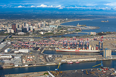 Cargo at Port of Long Beach