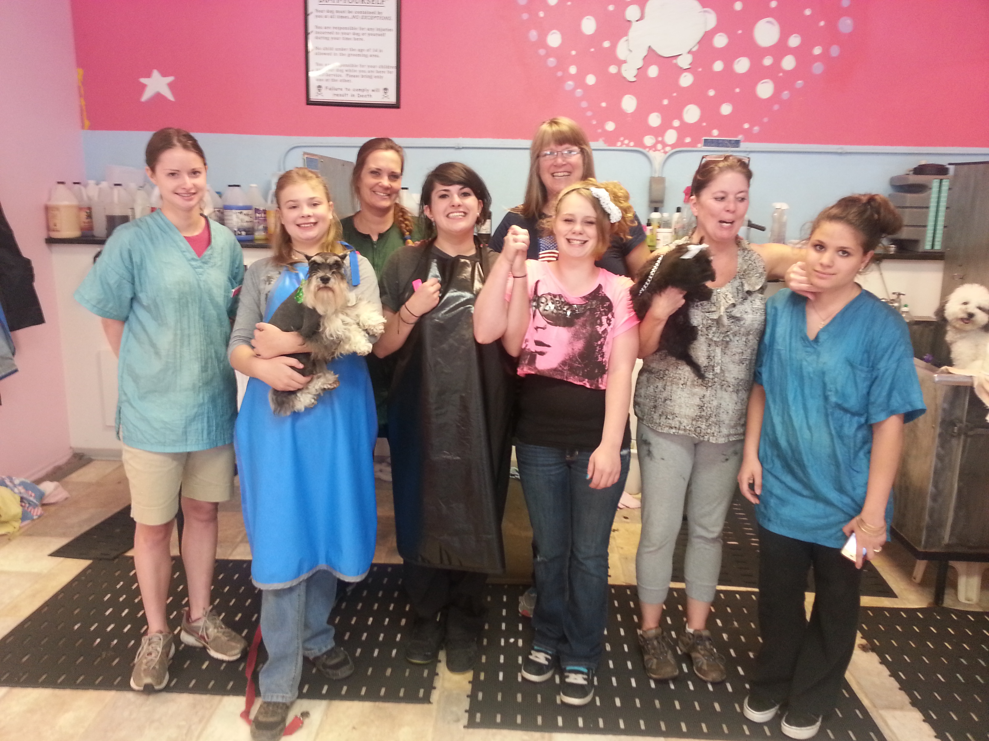 Pooch Parlor family