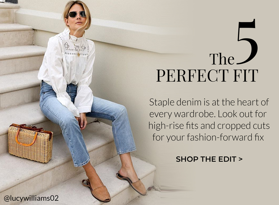 Staple denim is at the heart of every wardrobe