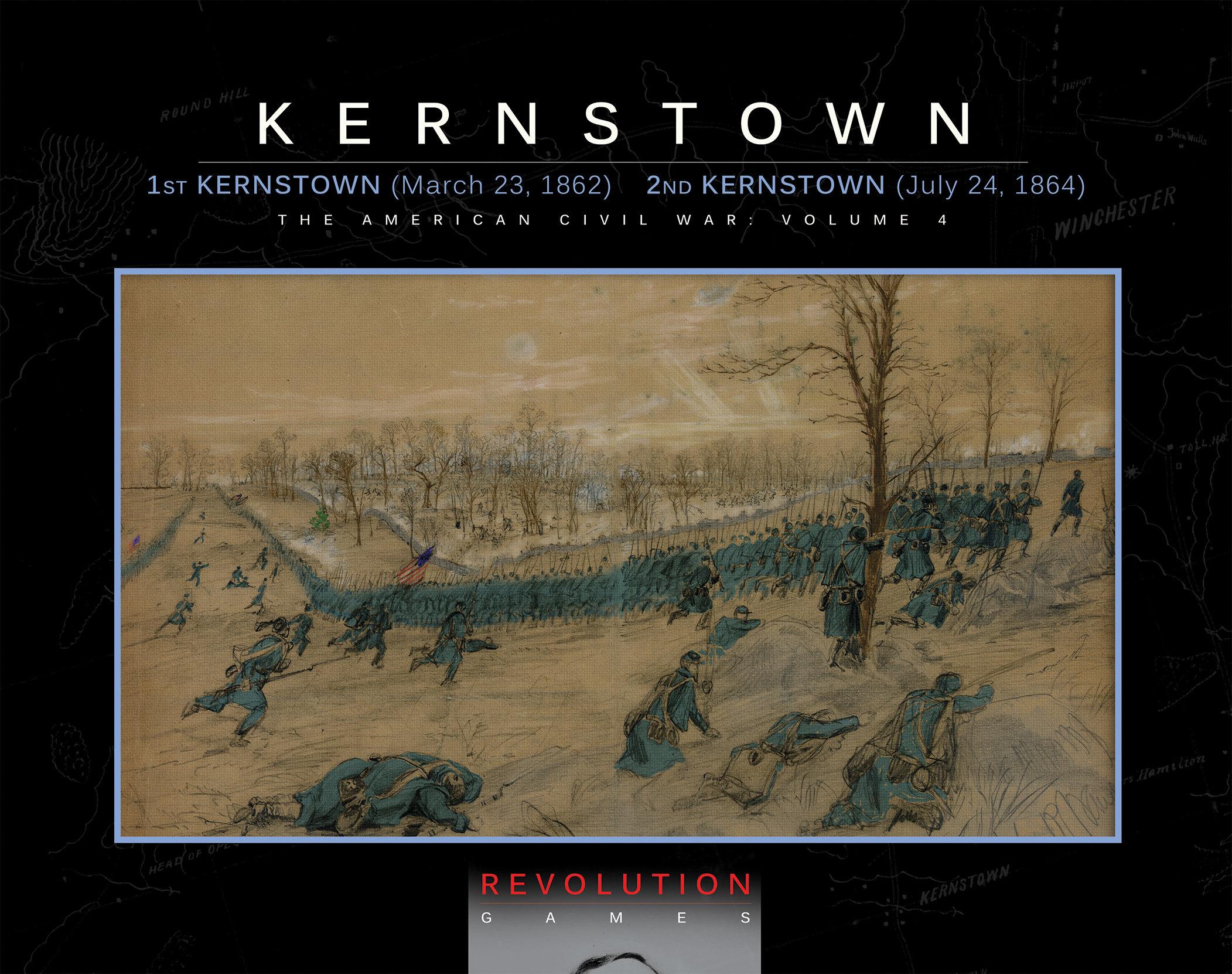 """Revolution Games Pre-Order Opens for Kernstown, a new """"Blind Swords"""" Game"""