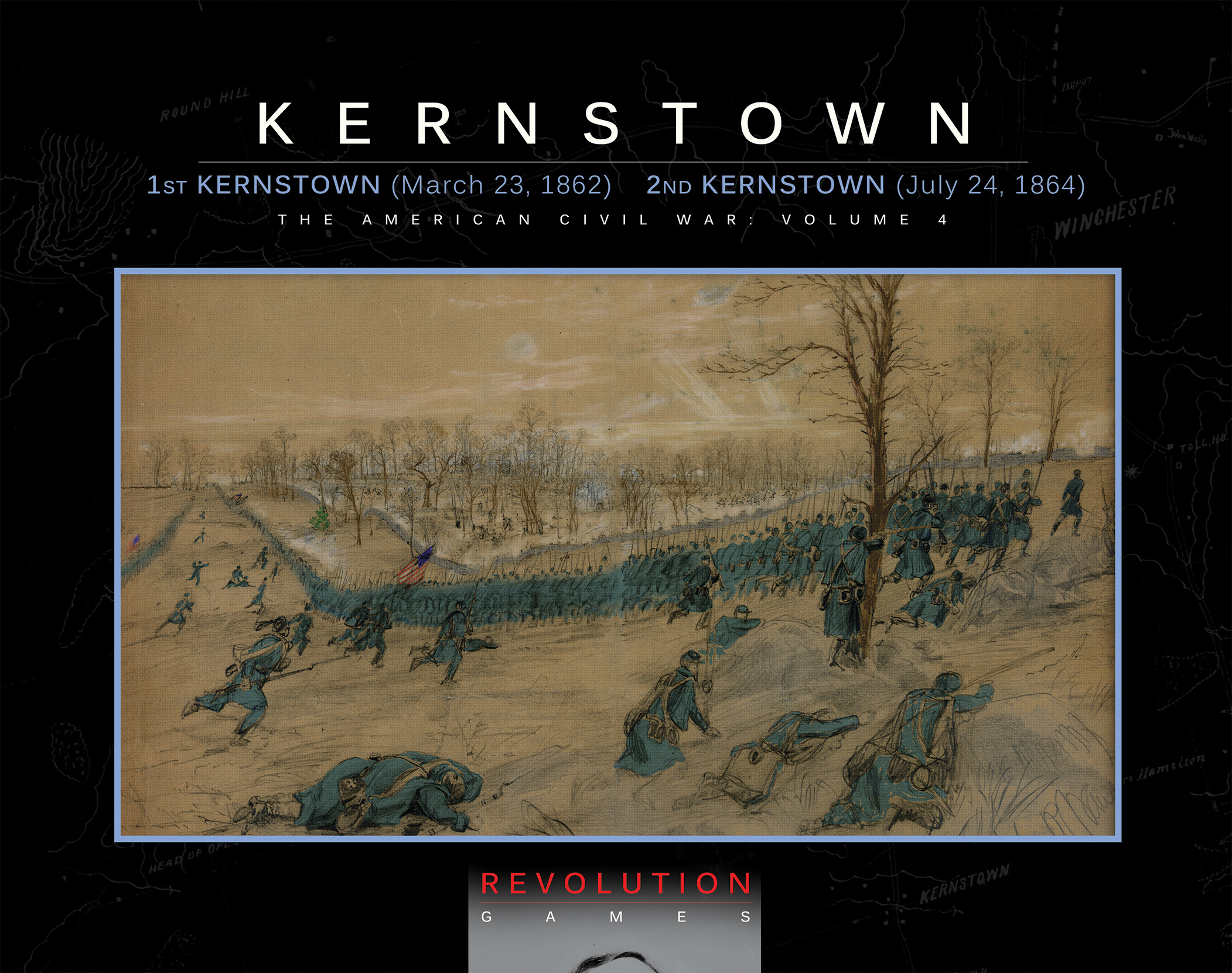 "Revolution Games now shipping ""First and Second Battles of Kernstown"""