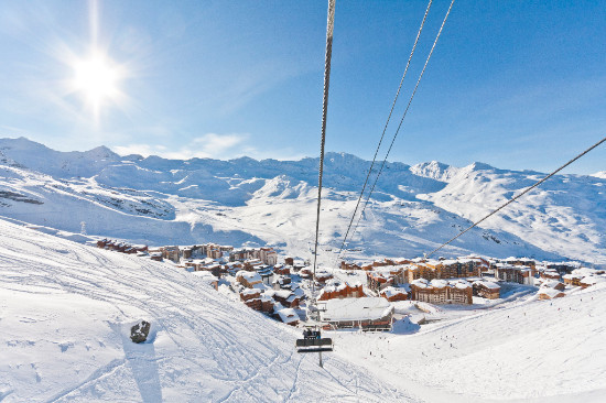 alea ski - val thorens