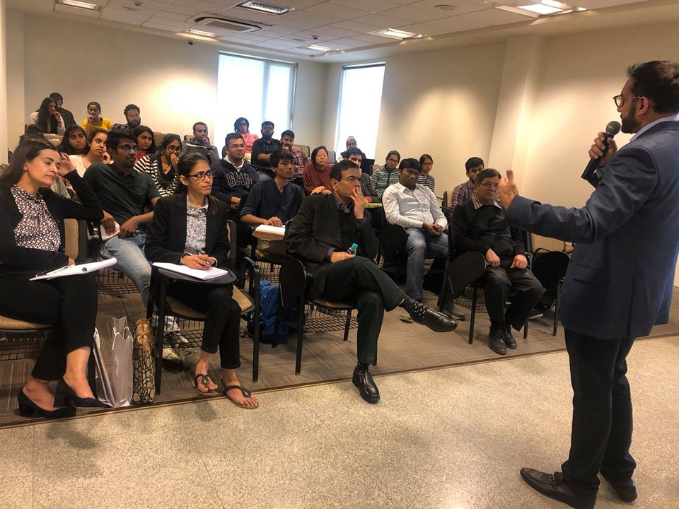Guest Lectures by Industry Veterans