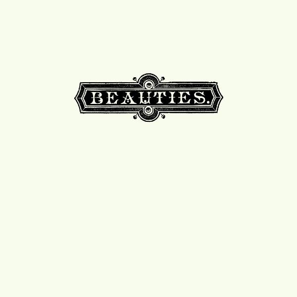 Health&Beauty 'NO SCARE' album artwork