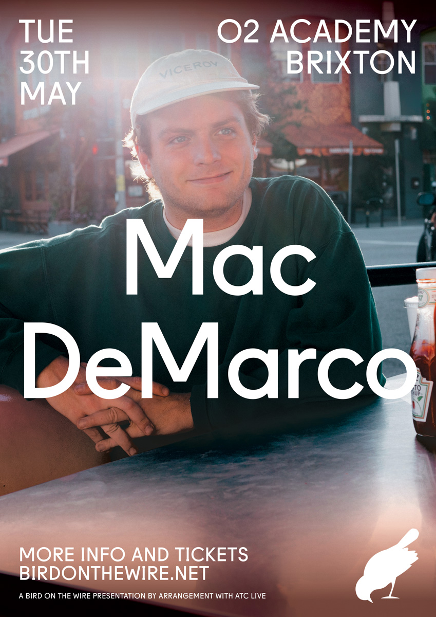 Mac DeMarco O2 Academy Brixton poster