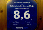 Booking.com / 2014 Award of exellence