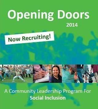 Image of opening doors flyer