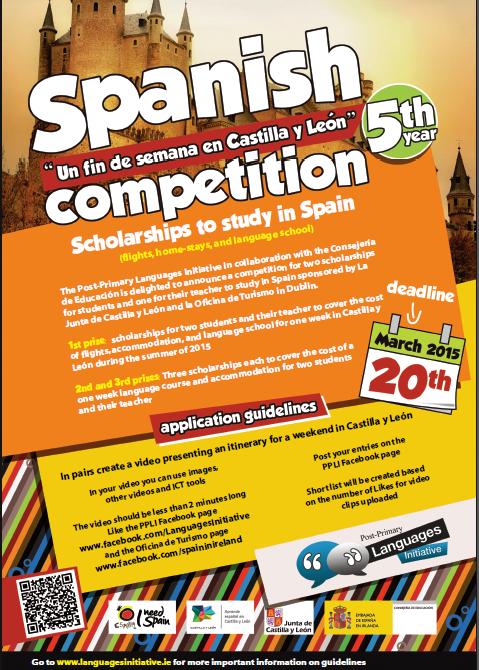 Scholarship to Spain