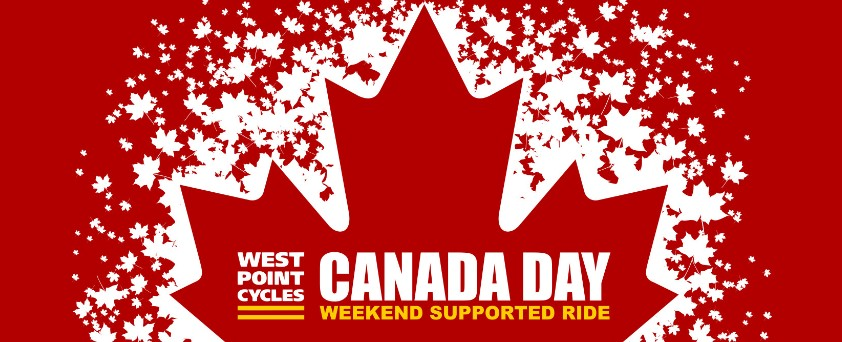Sign Up For West Point Cycles' Canada Day Weekend Supported Ride