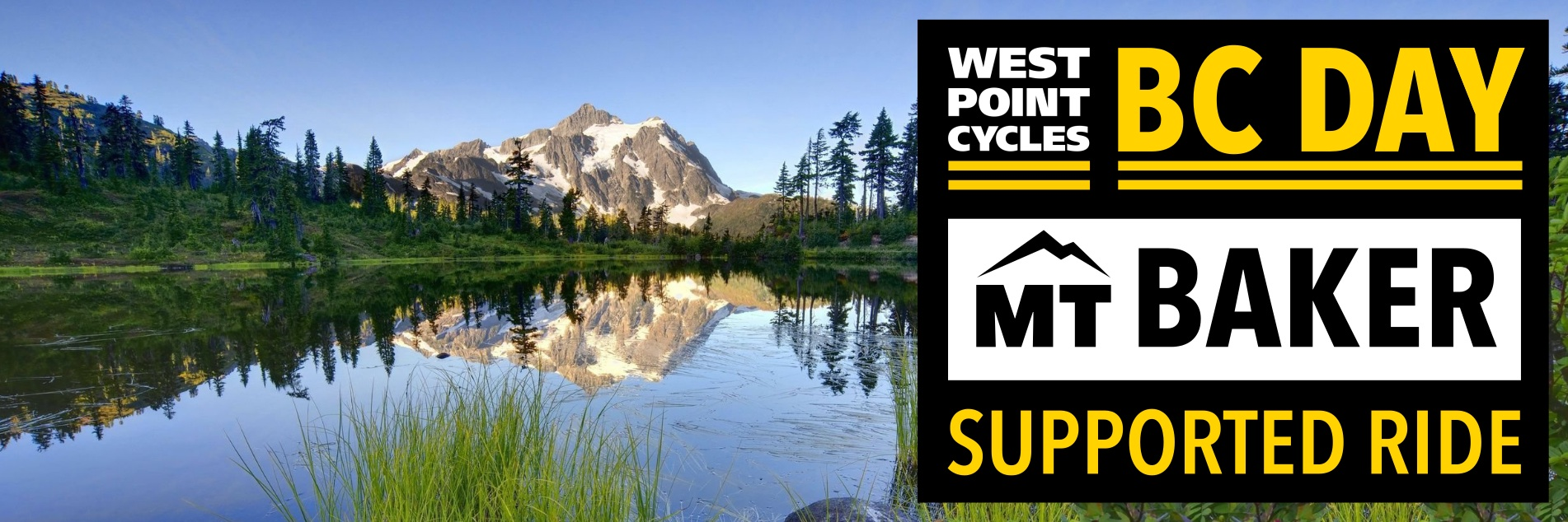 WPC's BC Day Supported Ride to Mount Baker - Sign Up at Eventbrite