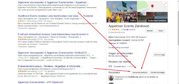 Zou je een Google review voor Letz Party / Appelman Events willen schrijven?
