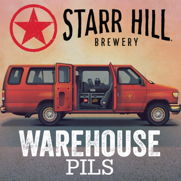 Starr Hill Warehouse Pils