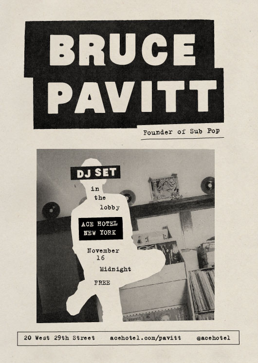 Bruce Pavitt at Ace Hotel New York