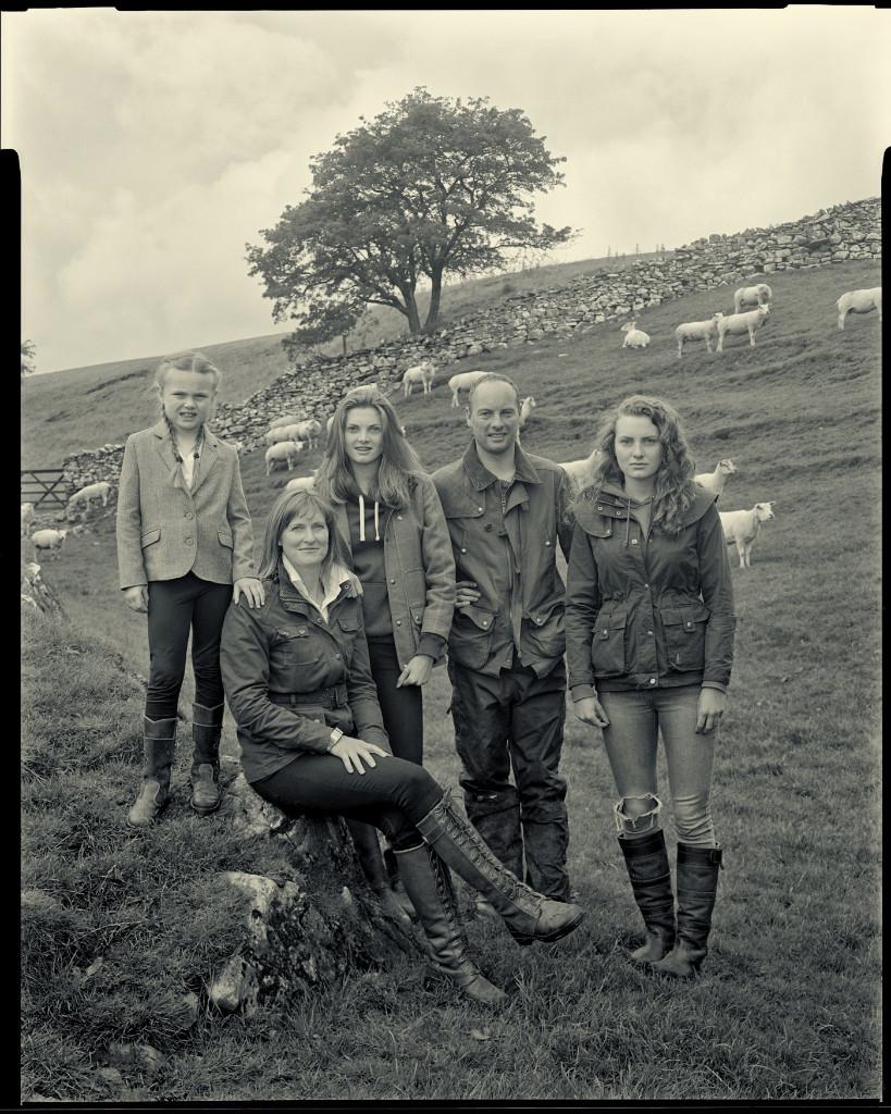The Marston Family at Easgill Head