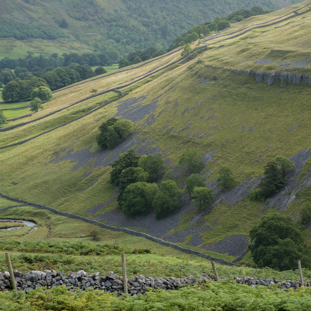 Looking down into Littondale, Yorkshire Dales