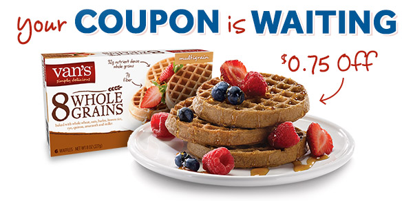 Your Coupon is Waiting - $0.75 Off!