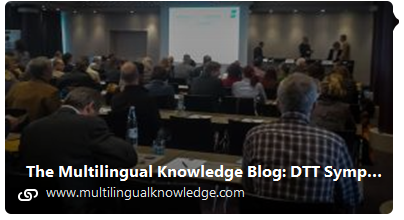Impressions from the DTT Conference