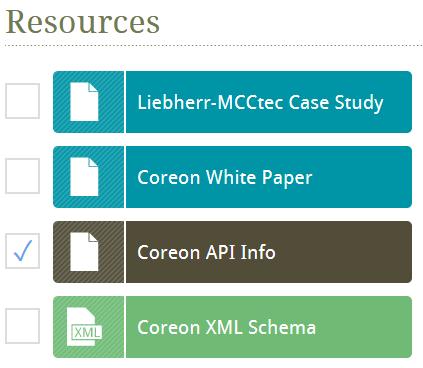 Coreon API: Automate and Integrate
