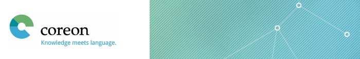 Open Coreon homepage