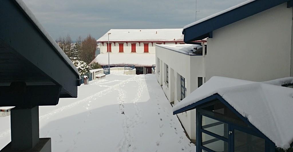 La terrasse de la médiathèque
