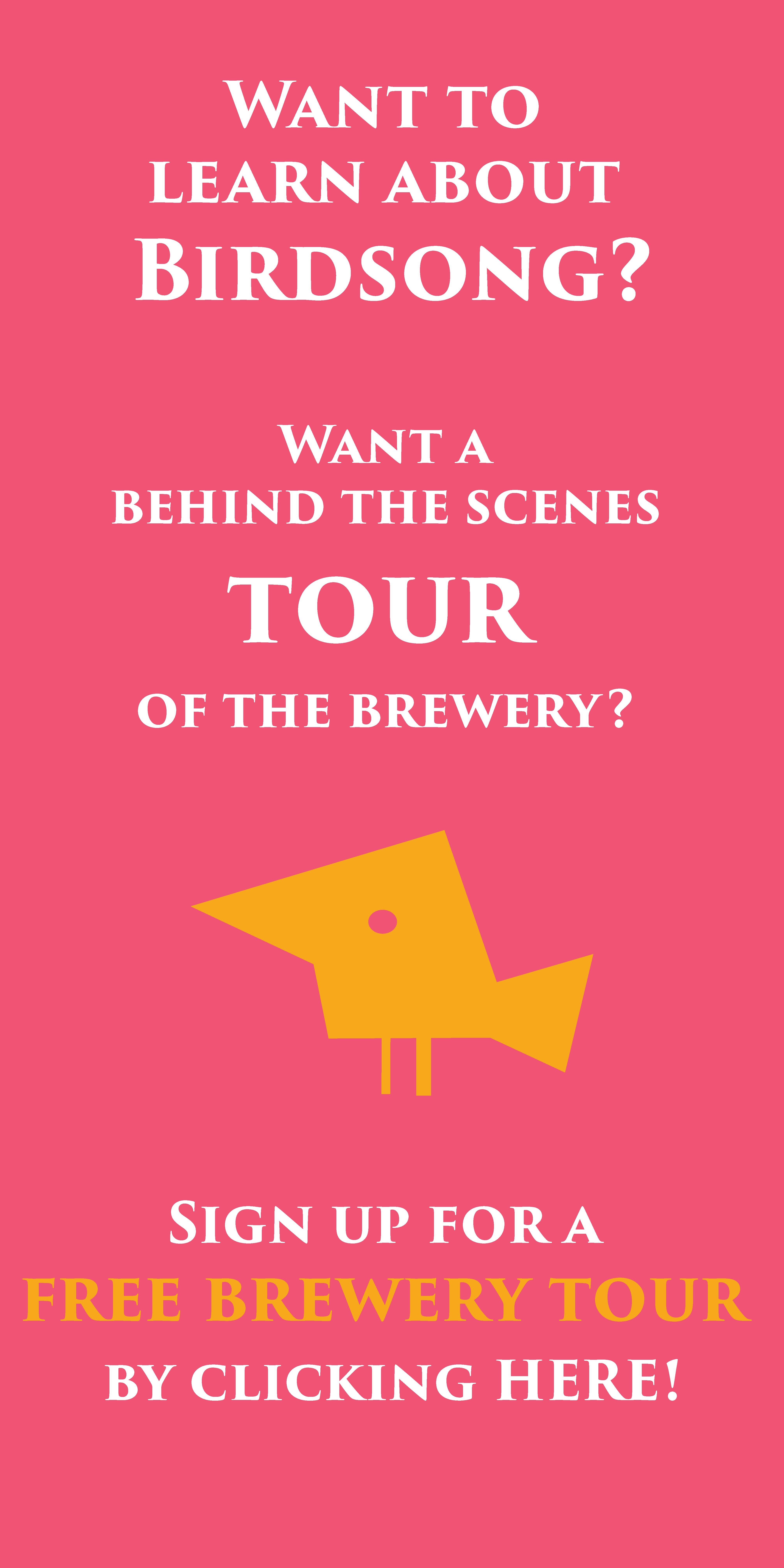 Click on the box to sign up for your tour!