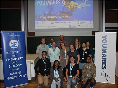 Photo showing young researches