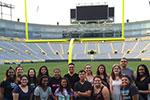UWGB Jump Start students tour Lambeau Field