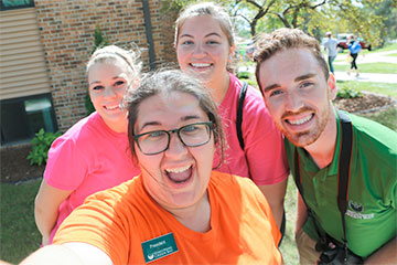 Move-in Day selfie
