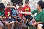 UWGB Nutrition Students present to Fit Kids