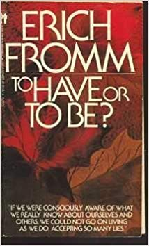 To Have or To Be Book Cover