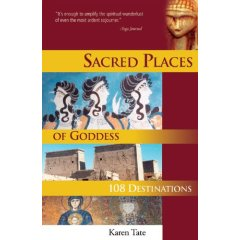 Sacred Places of Goddess Book Cover