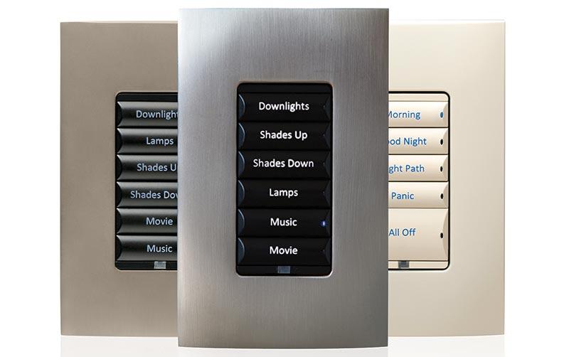 Smart home system keypads