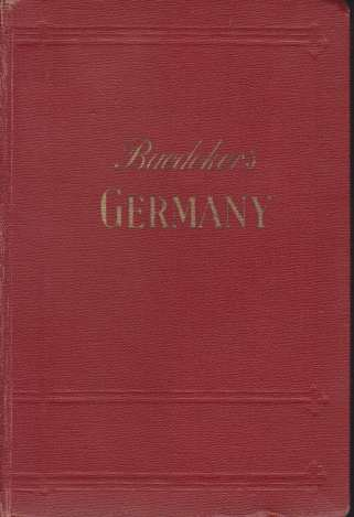 Baedeker: Germany (1936)