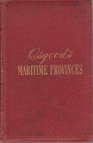 Osgood's Maritime Provinces