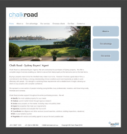 Picture of Chalk Road website